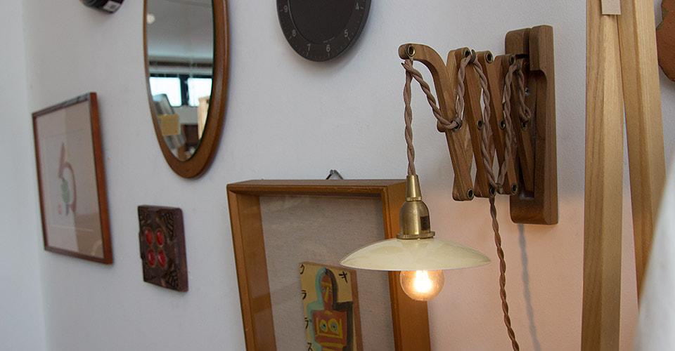 wood bracket scissor(アクシスクラシック撮影)