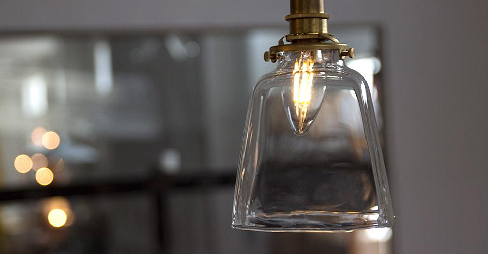レトロなシャンデリアled電球