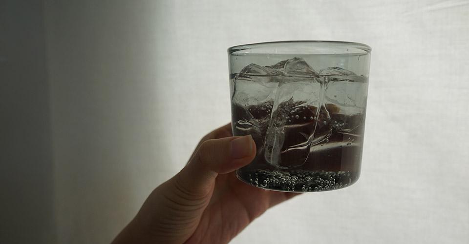 スコン グラス グレー