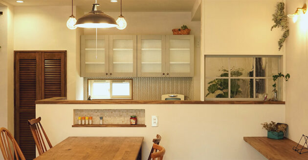 岡山県総社市 カフェ風の家づくり・デザインハウスBROOK
